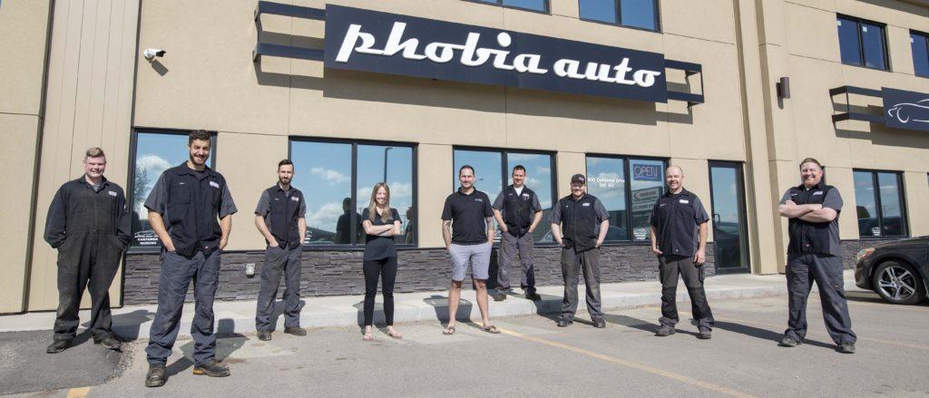Phobia auto repair